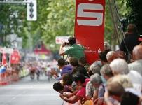 Frauenrennen Zieleinlauf 1